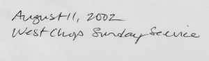 EAS August 11 2002